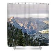 Yosemite Sunrise II Shower Curtain