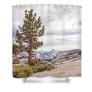 Yosemite Tree Shower Curtain