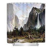 Yosemite Valley, C1860 Shower Curtain