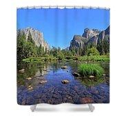 Yosemite Valley, California Shower Curtain