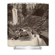 Yosemite: Vernal Fall Shower Curtain