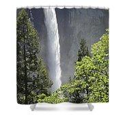 Yosemite Waterfall 2 Shower Curtain