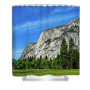 Yosemite West Valley Shower Curtain