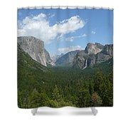 Yosemite's Inspiration Point Shower Curtain