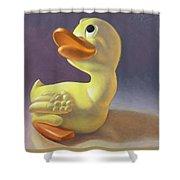 Yoshi's Ducky Debut Shower Curtain
