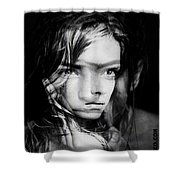 You Always Were A Thinker Mary Lou. Shower Curtain