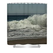 You Came Crashing Into Me Shower Curtain by Laurie Search