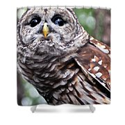 You Can Call Me Owl 2 Shower Curtain