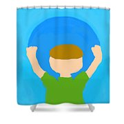 You Can Carry The Moon 101 Shower Curtain