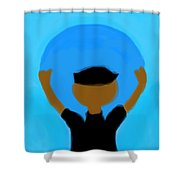 You Can Carry The Moon 102 Shower Curtain