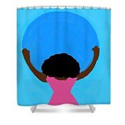 You Can Carry The Moon 103 Shower Curtain