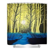 You Cant See The Forest For The Trees Shower Curtain