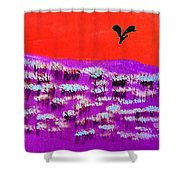 You Field Shower Curtain