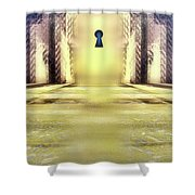 You Hold The Key Shower Curtain