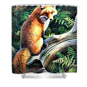 You Look'n At Me? Shower Curtain
