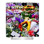 You Never Be Forgotten  Shower Curtain