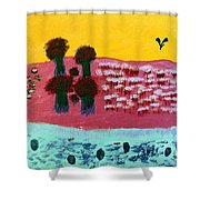 You River Shower Curtain
