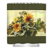 You Shall Love Your Neighbor As Yourself  Shower Curtain