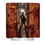 You Shot A Hole In My Soul Shower Curtain