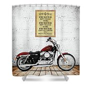 You Want To Be Happy 5 Shower Curtain
