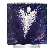 Your Angel Shower Curtain