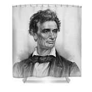 Young Abe Lincoln Shower Curtain