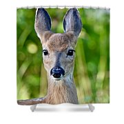 Young And Pretty Shower Curtain