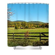 Young And Swain Road, Gilford N H Shower Curtain