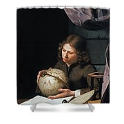 Young Astronomer Shower Curtain
