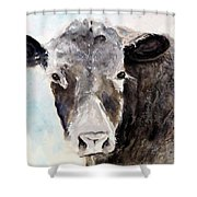 Young Bruno - Mud Face Shower Curtain