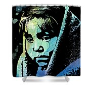 Young Child Shower Curtain