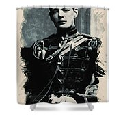 Young Faces From The Past Series By Adam Asar, No 111 Shower Curtain