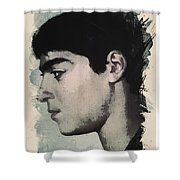 Young Faces From The Past Series By Adam Asar, No 14 Shower Curtain