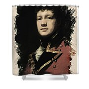 Young Faces From The Past Series By Adam Asar, No 57 Shower Curtain