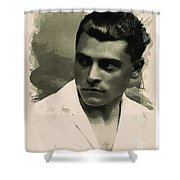 Young Faces From The Past Series By Adam Asar, No 73 Shower Curtain