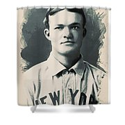 Young Faces From The Past Series By Adam Asar, No 79 Shower Curtain