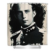 Young Faces From The Past Series By Adam Asar, No 81 Shower Curtain