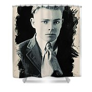 Young Faces From The Past Series By Adam Asar, No 90 Shower Curtain