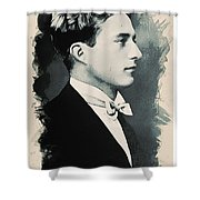 Young Faces From The Past Series By Adam Asar, No 95 Shower Curtain