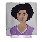 Young Frida Shower Curtain