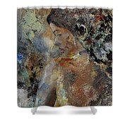 Young Girl 45156987 Shower Curtain
