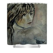 Young Girl 561110 Shower Curtain
