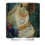 Young Girl  5625632 Shower Curtain