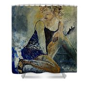 Young Girl 5689474 Shower Curtain