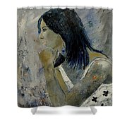 Young Girl Eg569090 Shower Curtain