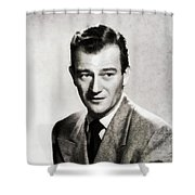 Young John Wayne, Hollywood Legend Shower Curtain