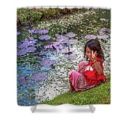 Young Khmer Girl - Cambodia Shower Curtain