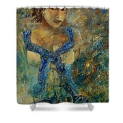 Young Lady 5698 Shower Curtain