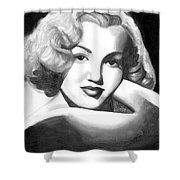 Young Marilyn Shower Curtain