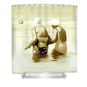 Young Minds Shower Curtain